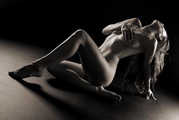Hot blonde girls bent over nude
